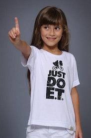 Camiseta Infantil Just Do E.T.