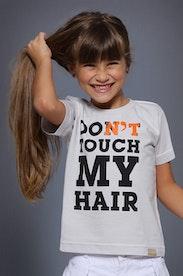 Camiseta Infantil Don't Touch My Hair