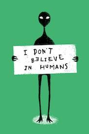 Estampa Camiseta Infantil Humans