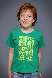 Camiseta Infantil Ziriguidum