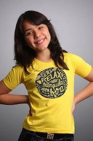 Camiseta Infantil Relax