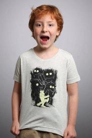 Camiseta Infantil Onde Vivem os Monstros