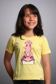 Camiseta Infantil Pink Family