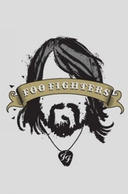Estampa Camiseta Infantil Foo Fighters