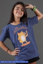 Camiseta Infantil Catlicious