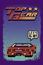 Estampa Camiseta Top Gear
