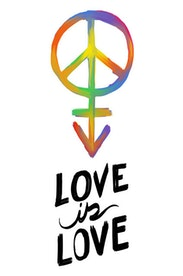 Estampa Camiseta Love Is Love