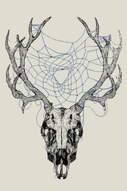 Estampa Camiseta Deercatcher