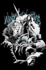 Estampa Camiseta Jon Snow