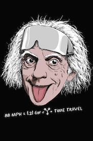 Estampa Camiseta Doc Brown