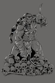 Estampa Camiseta Khal Drogo