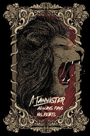 Estampa Camiseta Lannister
