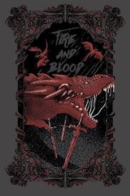 Estampa Camiseta Targaryen