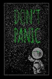Estampa Camiseta Don't Panic