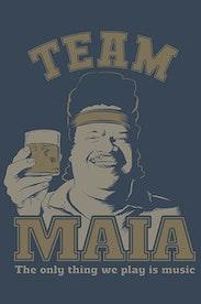 Estampa Camiseta Team Maia
