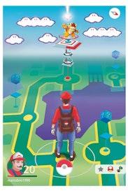 Estampa Camiseta Super Mario GO