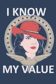 Estampa Camiseta I Know My Value
