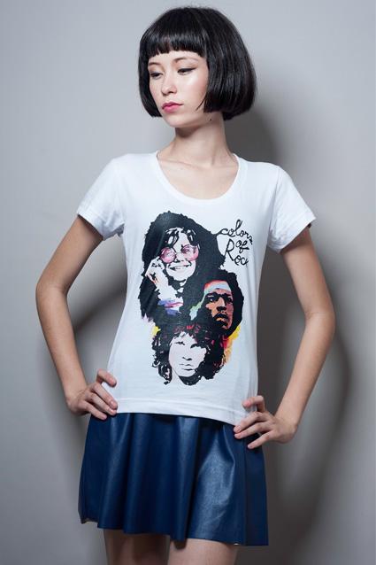 Camiseta Camiseta Colors of Rock