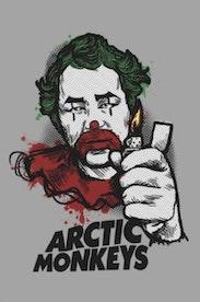 Estampa Camiseta Arctic Monkeys