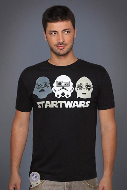 Camiseta Camiseta Start Wars