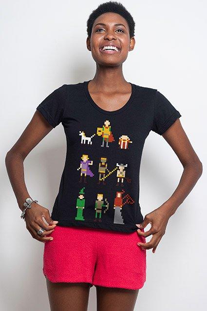 Camiseta Camiseta Caverna do Dragão