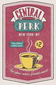 Estampa Capa Central Perk