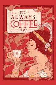 Estampa Capa Time to Coffee