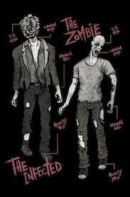 Estampa Capa Infected Zombie