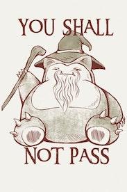 Estampa Capa You Shall Not Pass