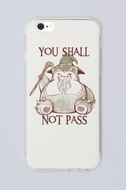 Capa You Shall Not Pass