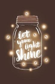 Estampa Capa Let It Shine
