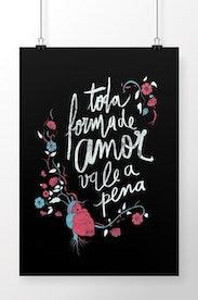 Poster Toda Forma de Amor