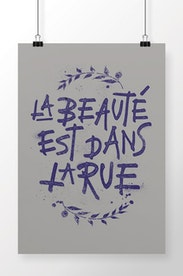 Poster Beauté