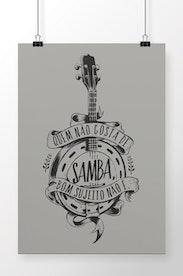 Poster Samba da Minha Terra