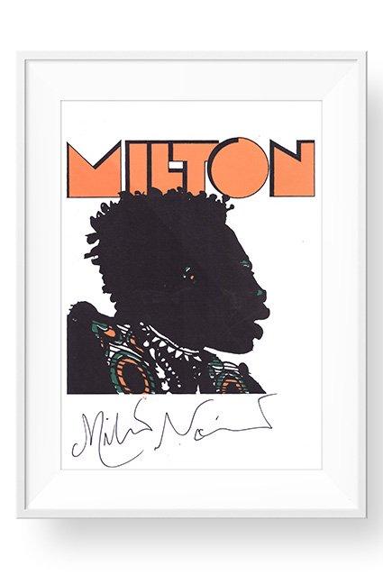 Poster Autografado com Moldura