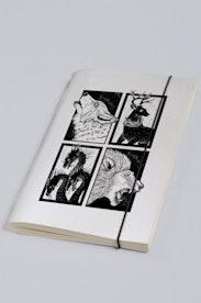 Estampa Sketchbook Guerra dos Tronos