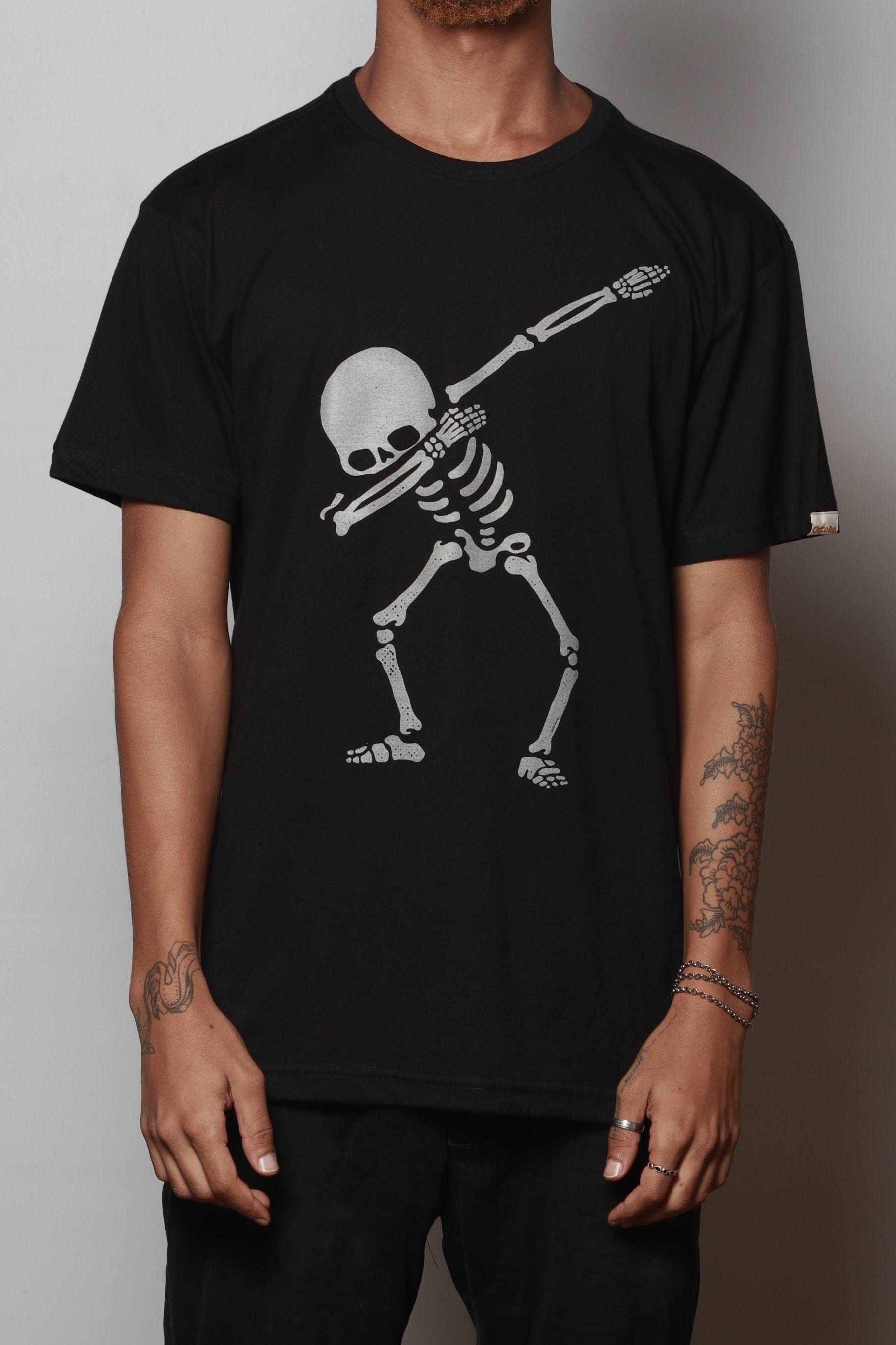 Camiseta Dabbing Skeleton