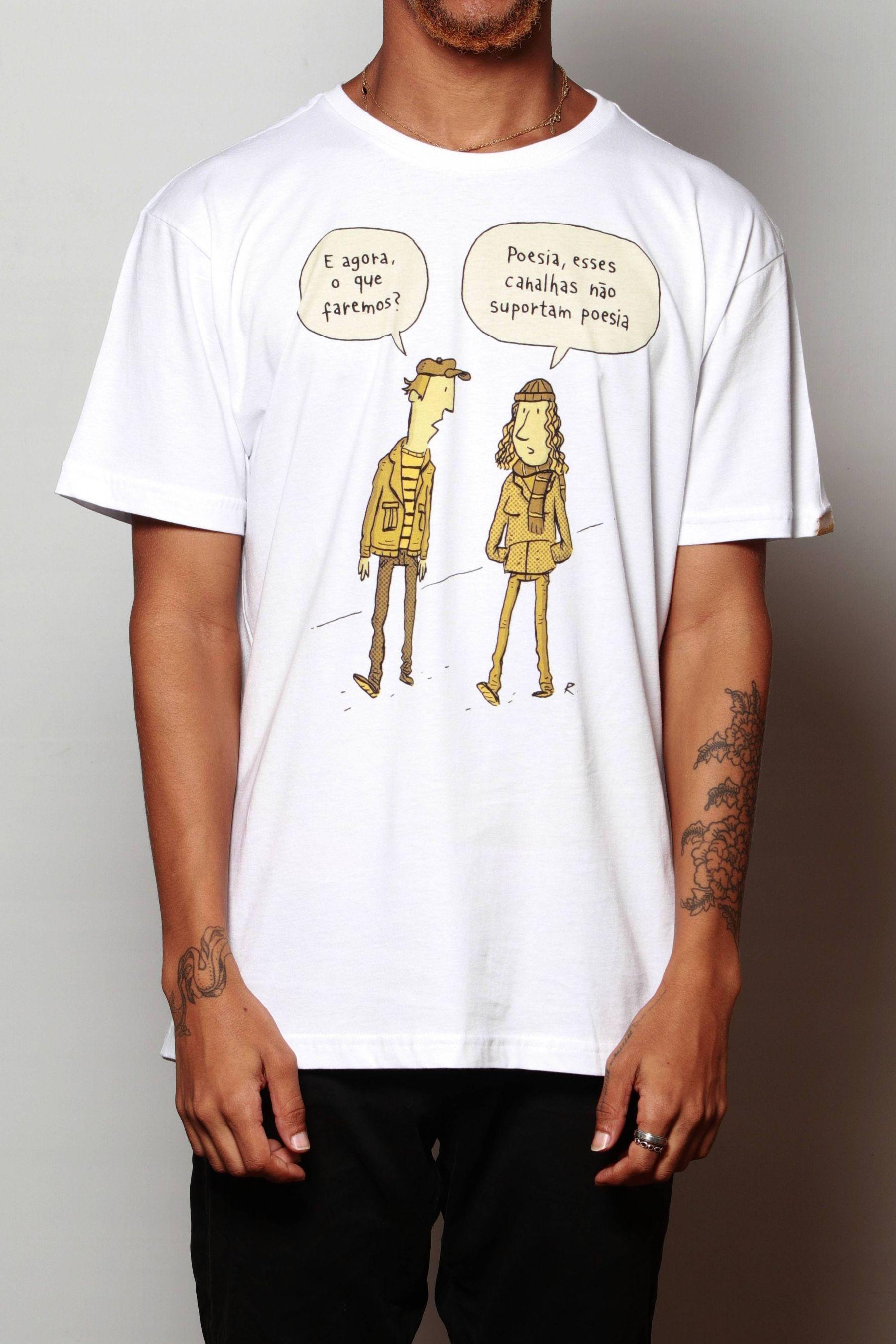 Camiseta Poesia