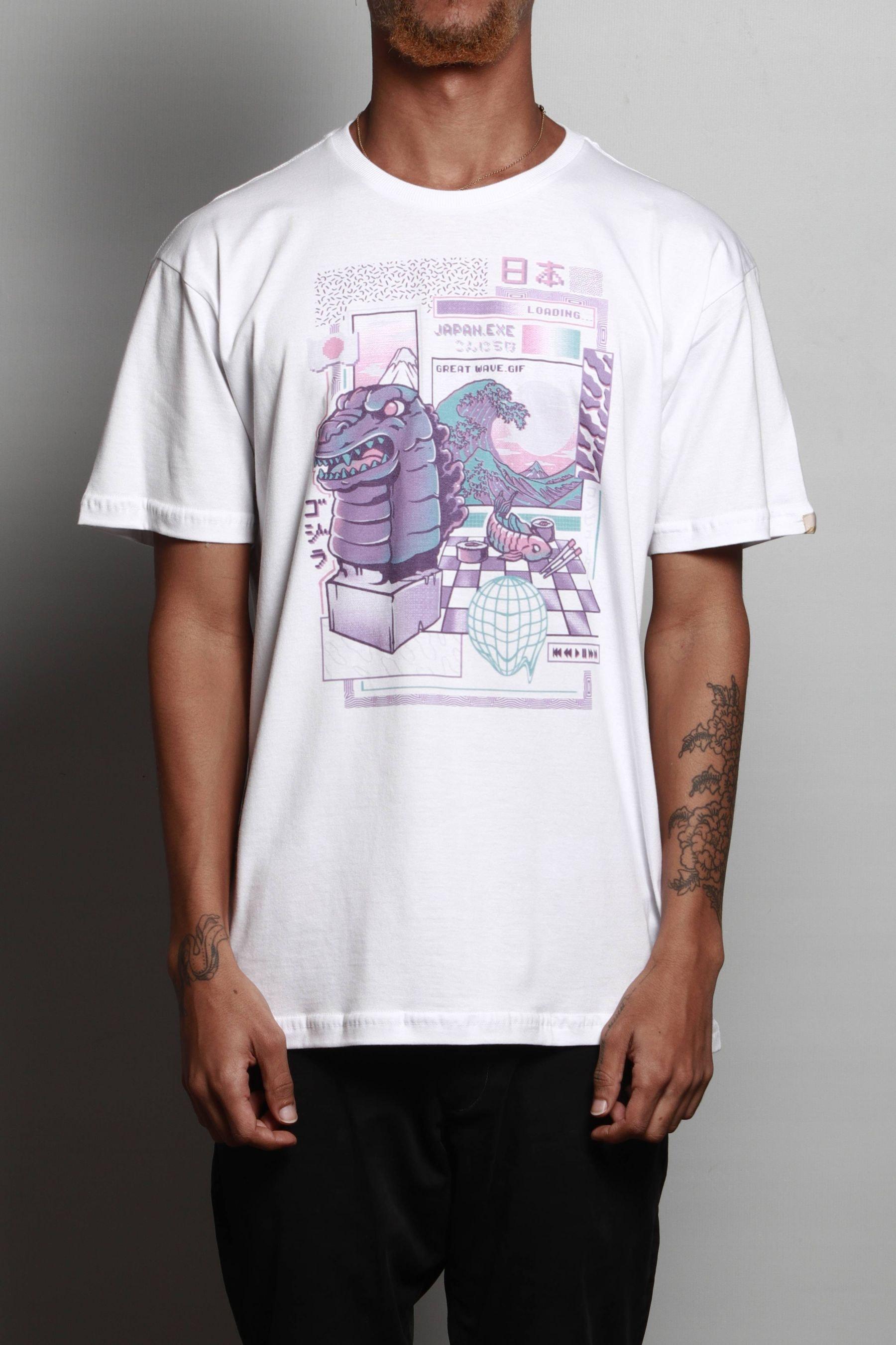 Camiseta Japa Wave