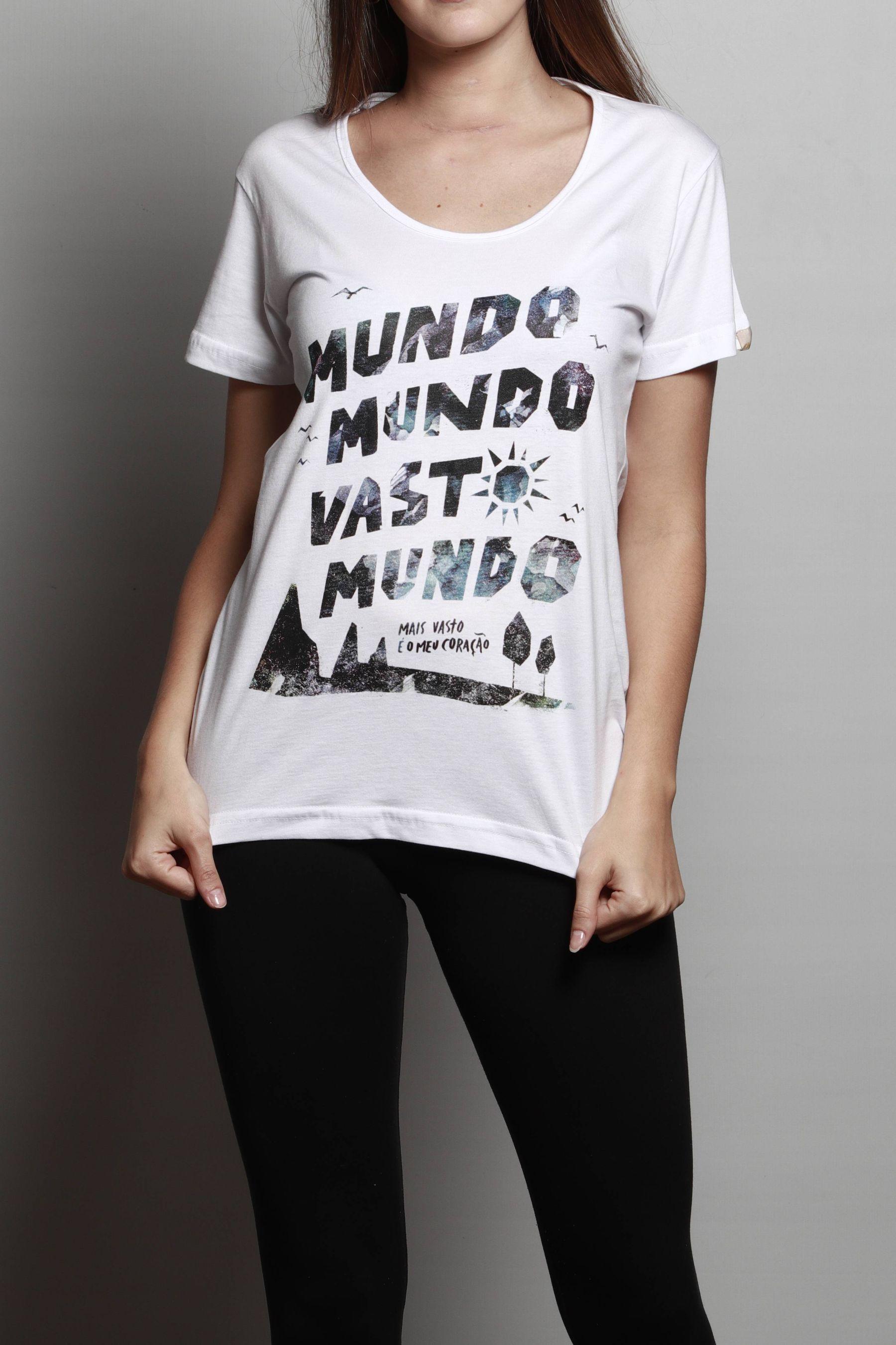 Camiseta Vasto Mundo