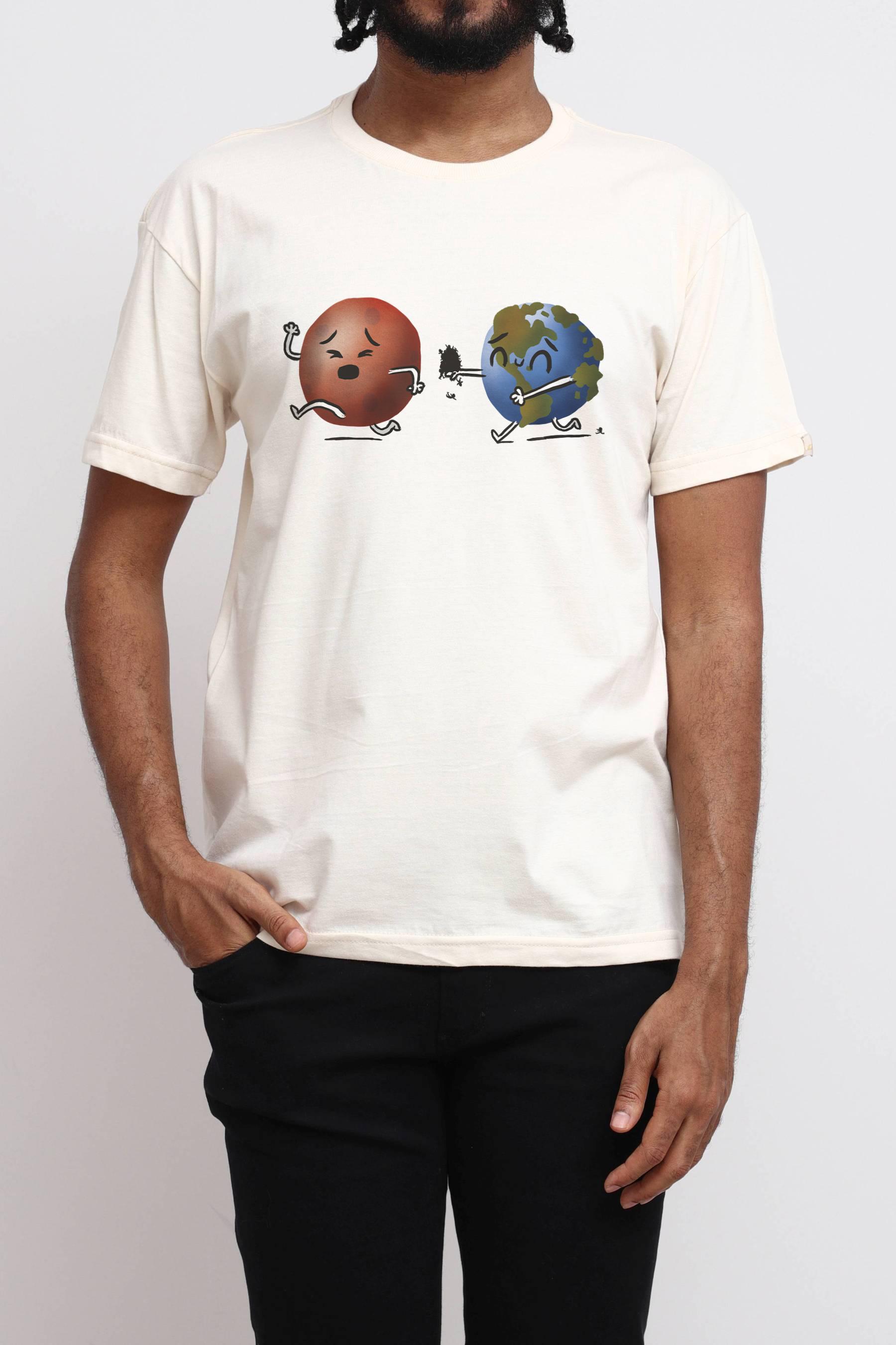Camiseta Run Mars, Run