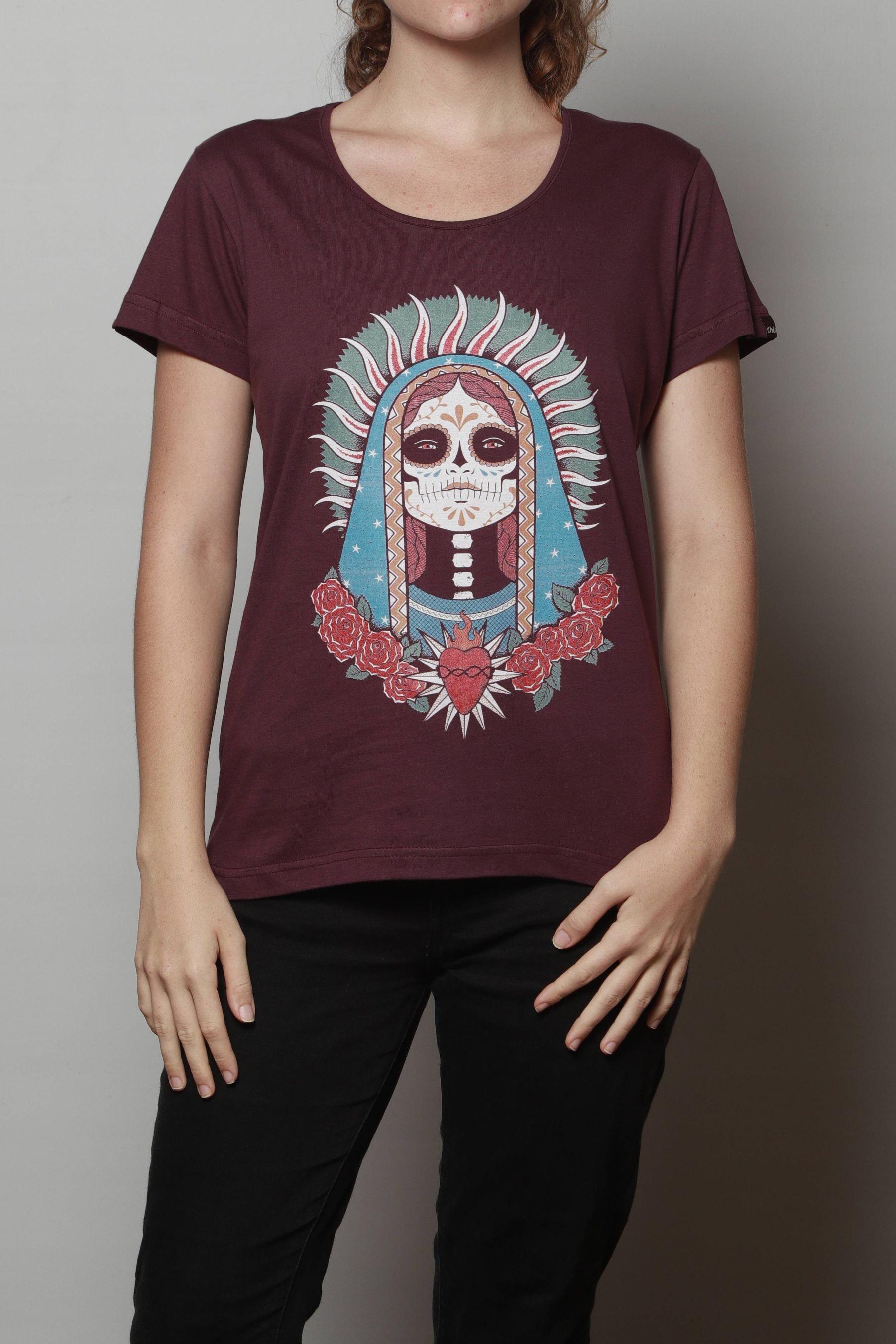 Camiseta Santa Muerte Chico Rei