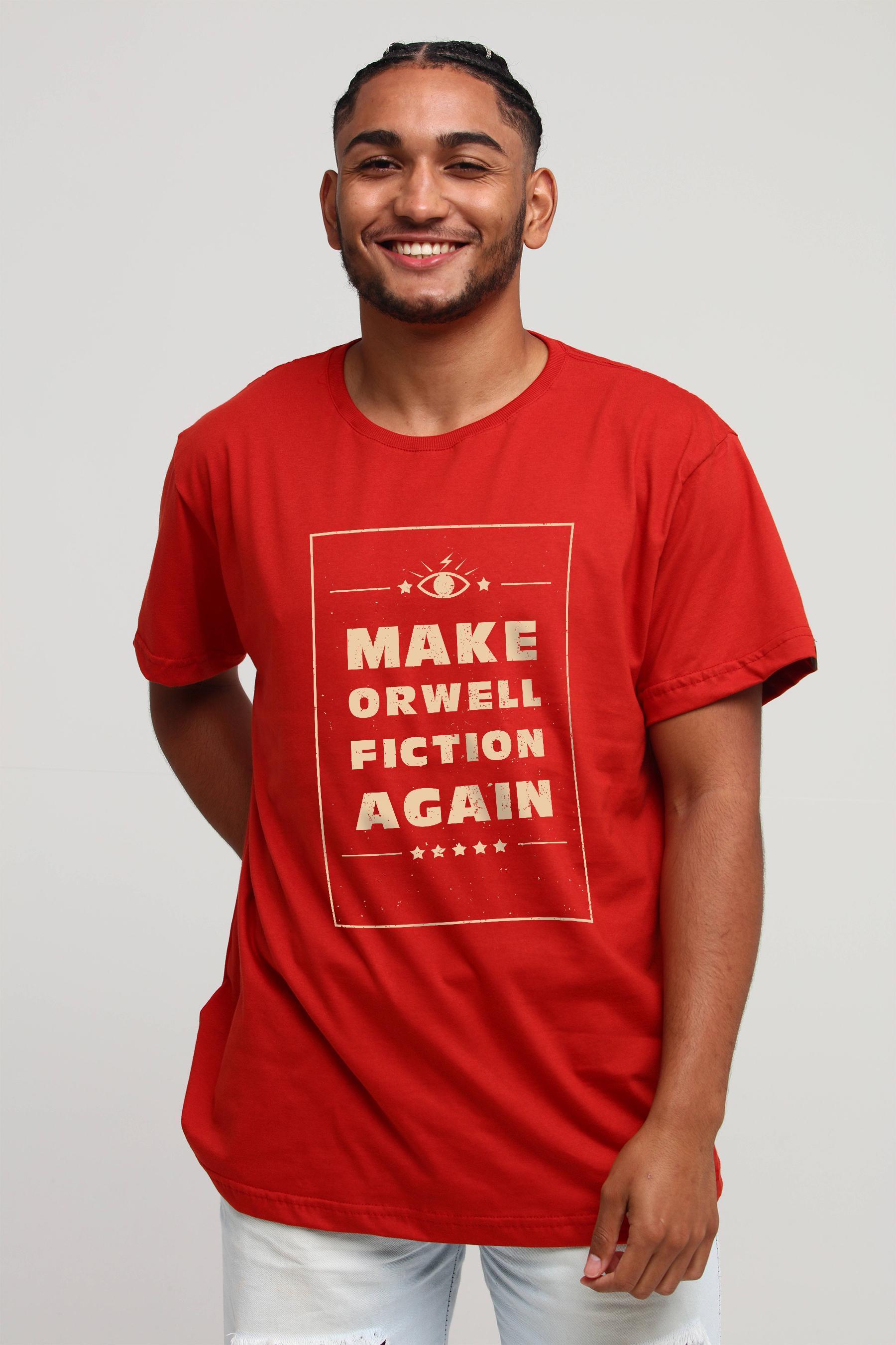 Camiseta Fiction Again