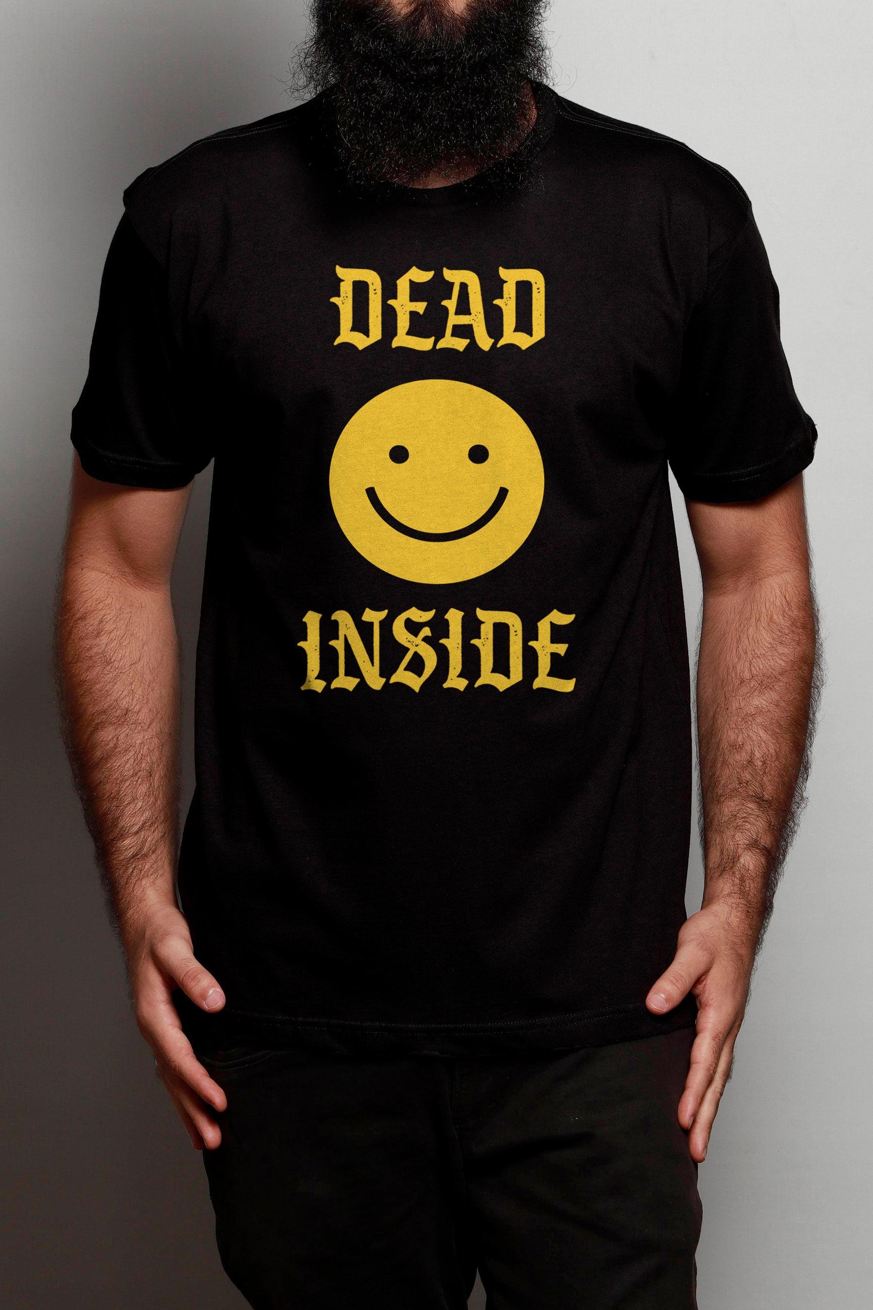 Camiseta Dead Inside Smile