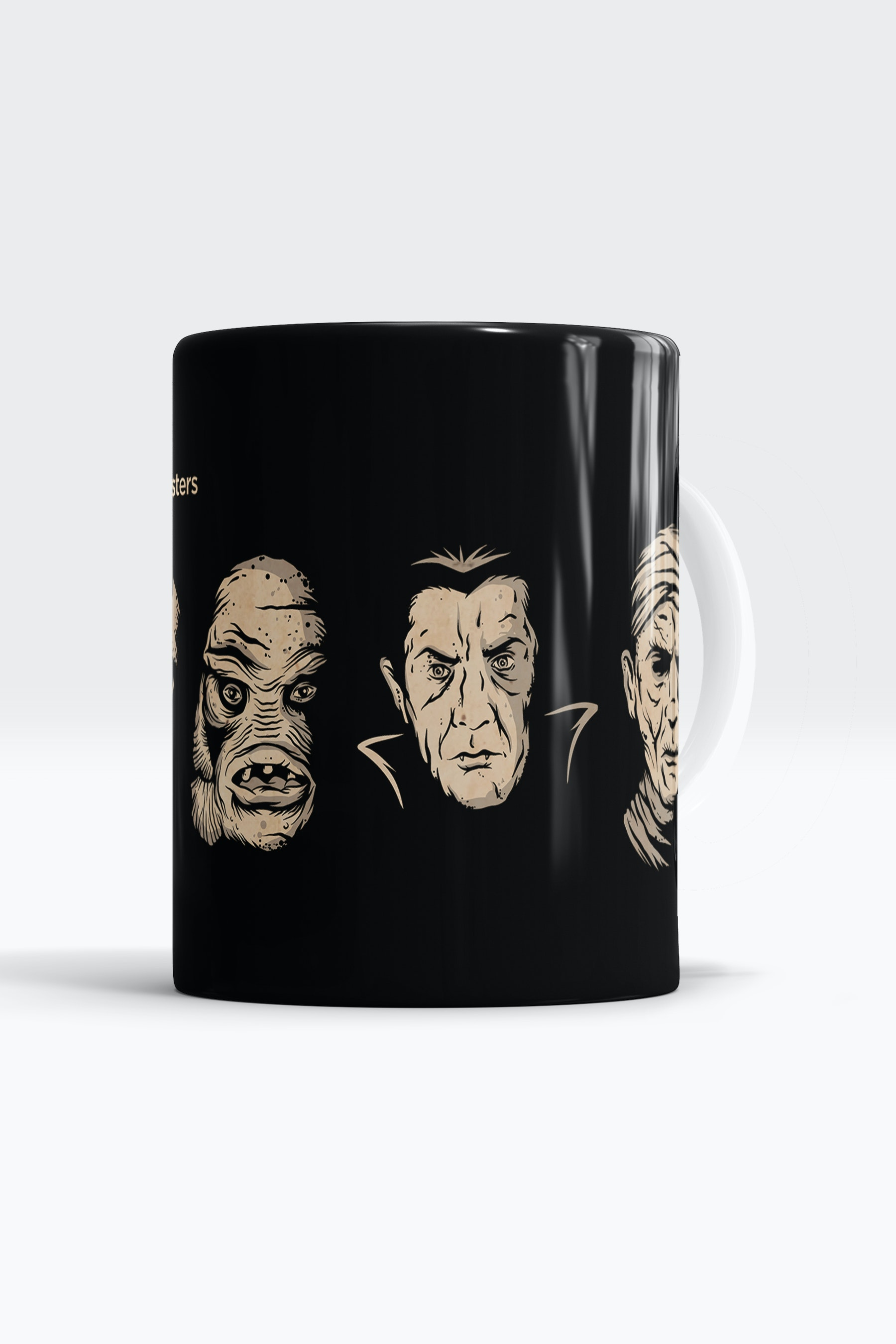 Caneca With The Monsters