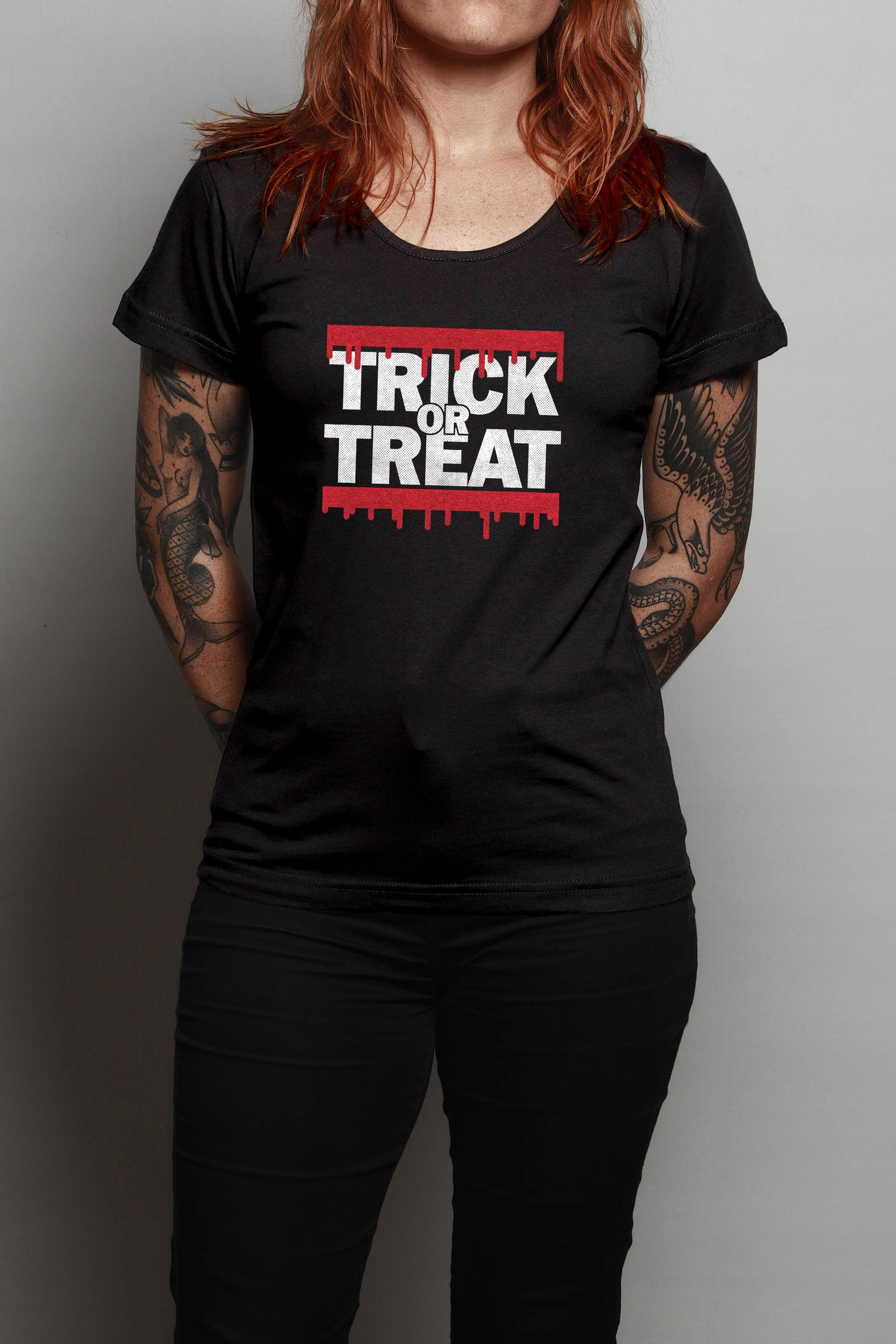 Camiseta Trick Or Treat