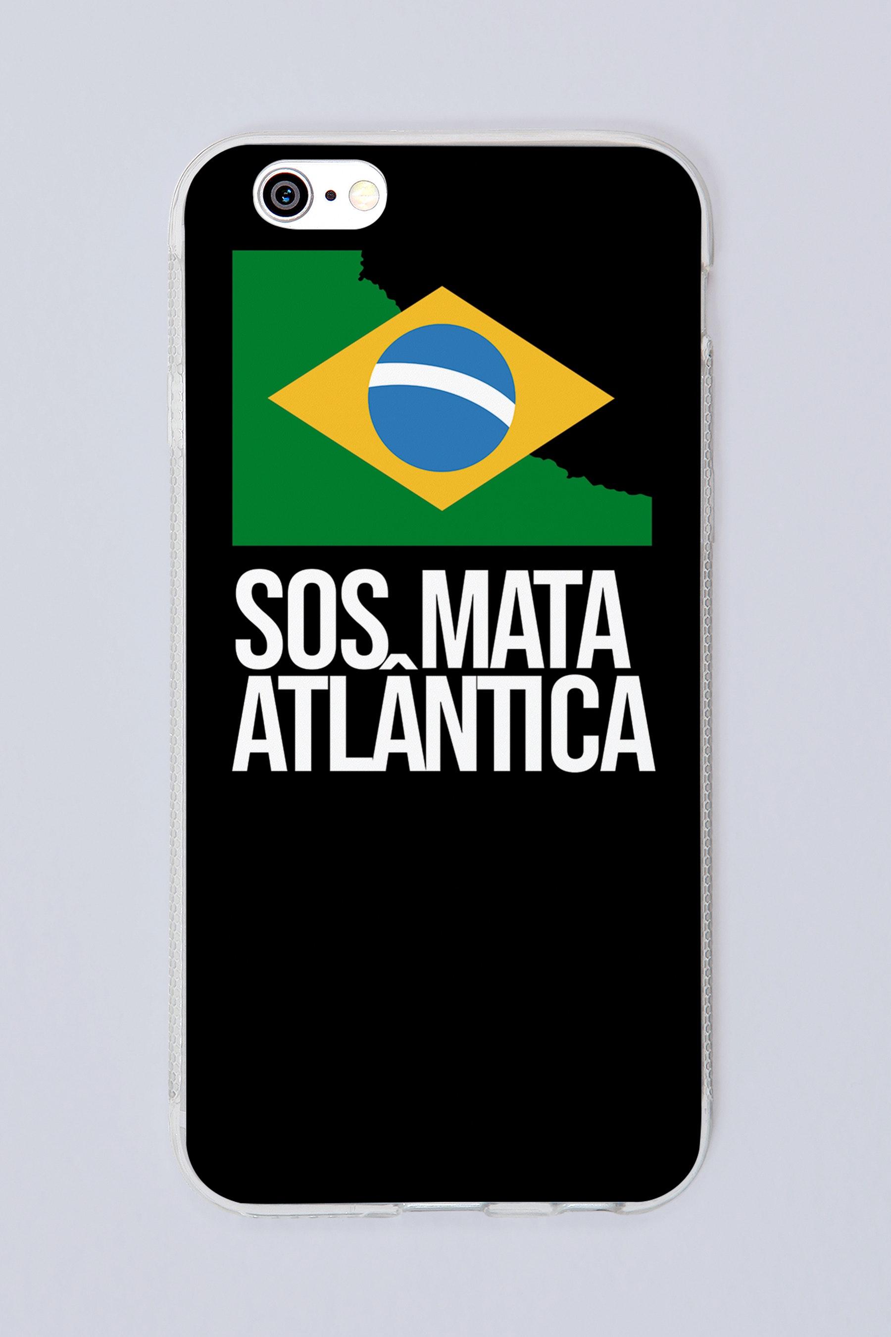 Capa SOS Mata Atlântica Preta