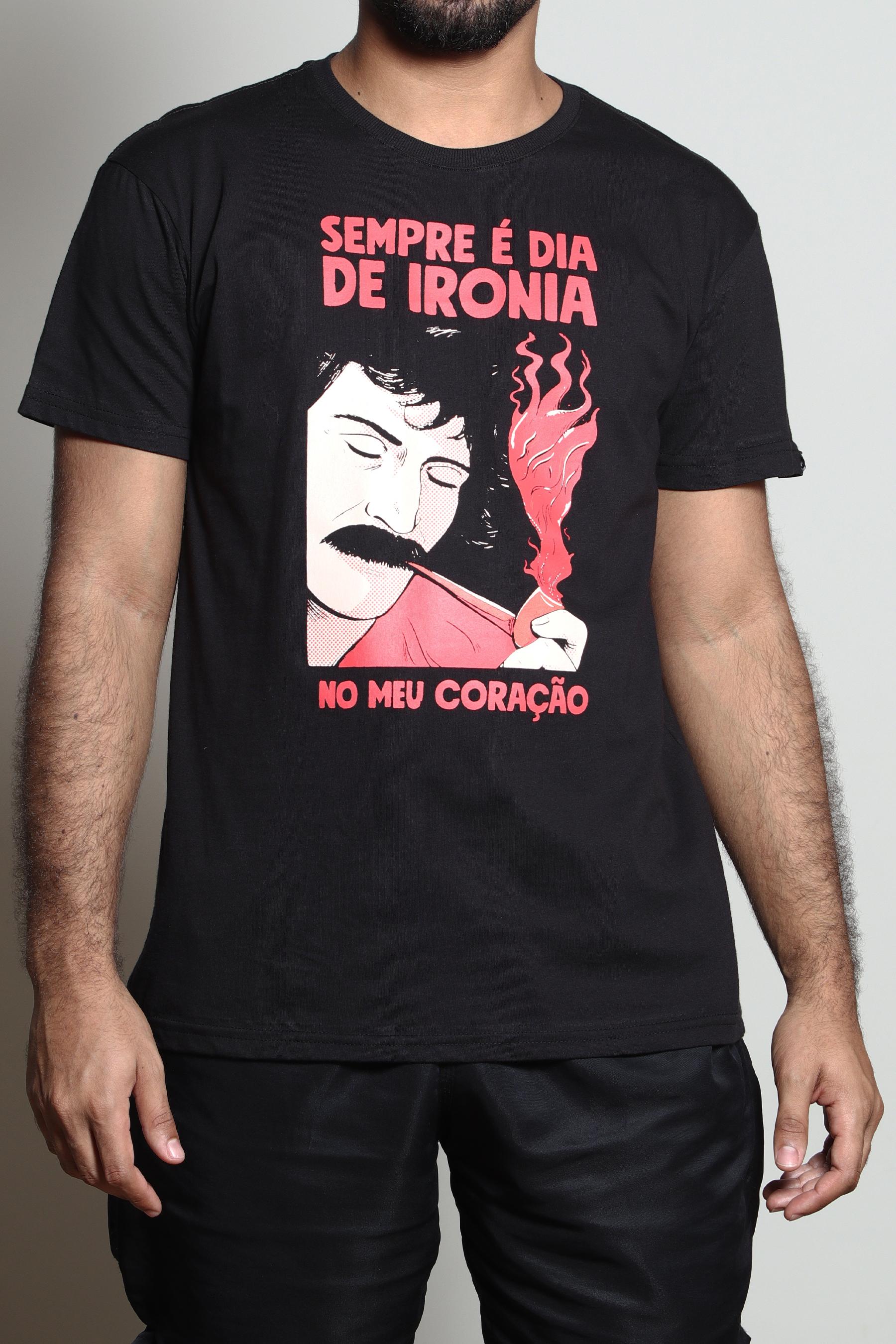 Camiseta Ironia