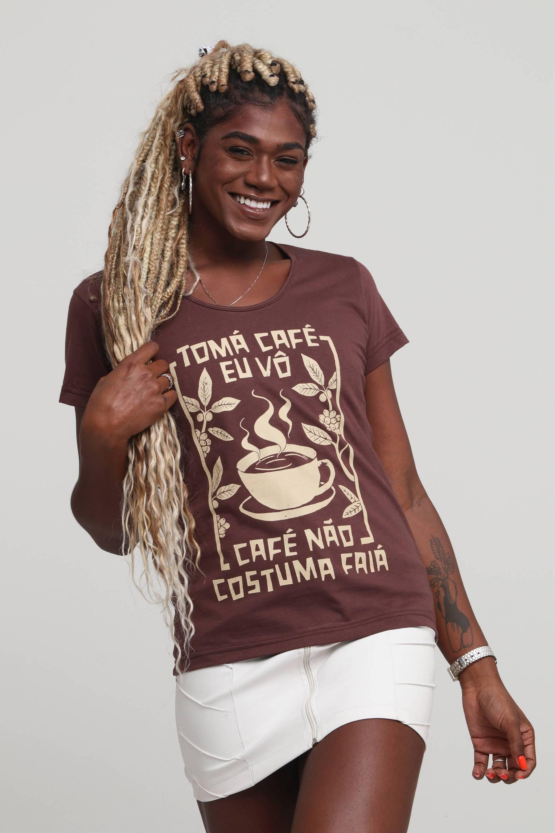 Camiseta Tomá Café