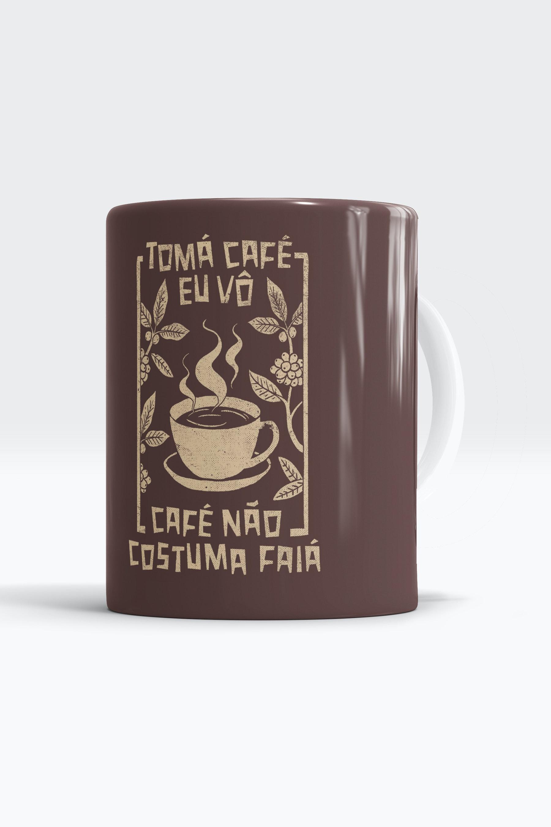 Caneca Tomá Café